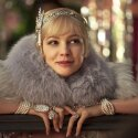 Aktor Carey Mulligan, kadras i filmo &quot;Didysis Getsbis&quot;