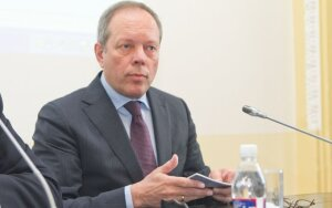 Picture: Visaginas NPP director Rimantas Vaitkus: The plant is our bread