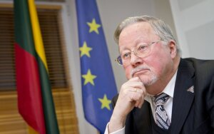 Picture: Vytautas Landsbergis on...