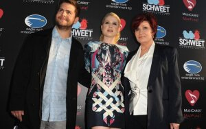 Jack Osbourne, Kelly Osbourne, Sharon Osbourne