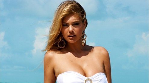 Kate Upton. Beach Bunny nuotr.